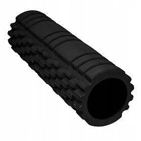 Массажный ролик (валик, роллер) SportVida EVA 45 x 14 см SV-HK0212 Black