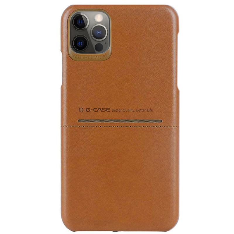 "Кожаная накладка G-Case Cardcool Series для Apple iPhone 12 Pro Max (6.7"")"