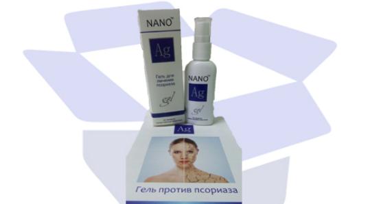 Гель для лечения псориаза Ag Nano
