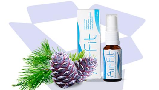 Спрей антисептический (оздоровитель воздуха, от гриппа,ОРВИ) Air Fit - спрей антисептический