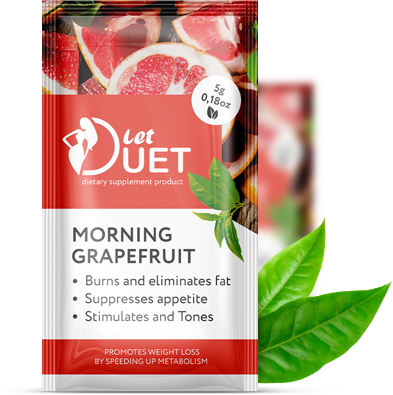 Let Duet - Двухфазный напиток для похудения - День/Ночь (Лет Дуэт)
