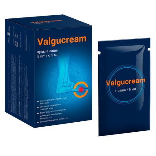 Valgucream - Крем от вальгусной деформации (ВальгуКрем). Крем от косточки на ноге Valgucream - лучшее средство