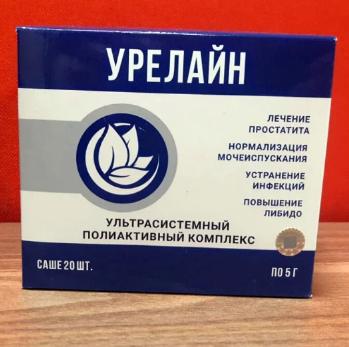 Препарат Урелайн от простатита