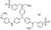 M128 Кумасси® бриллиантовый голубой R-250, д/протеомики, 65%, 10 г (Amresco)