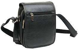 Шкіряна сумка чоловіча Always Wild 5047SPN чорна