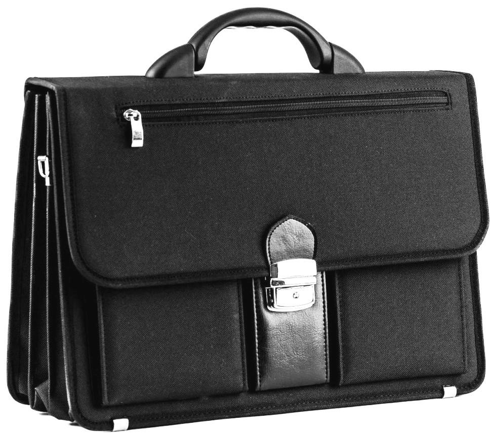 Деловой портфель из кордура Amo Sst06 черный