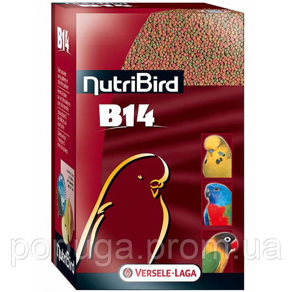 Корм Versele-Laga NutriBird В14 корм для волнистых и других небольших попугаев, 1 кг