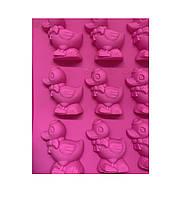 "Форма для выпечки кексов силиконовая ""Уточка"" (0,2х1,5х28,8х30см)"