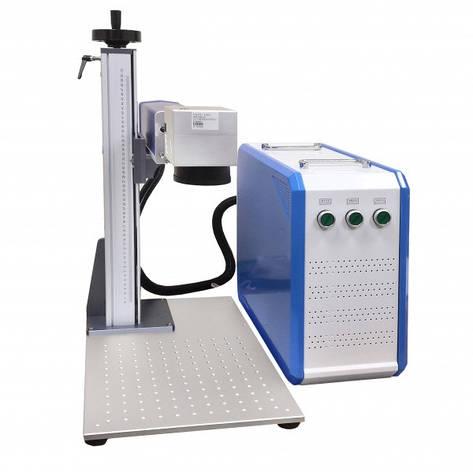 Лазерный волоконный маркировочный станок MLF 30 Вт (раздельный), фото 2