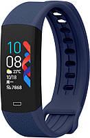 Фитнес браслет Lemfo B6W с датчиком температуры тела (Синий)