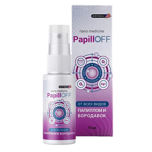 Спрей PapillOFF от папиллом и бородавок. Средство от папиллом PapillOFF (ПапиллОфф)