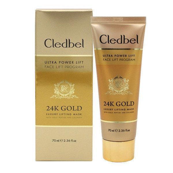 Cledbel 24К Gold - Золотая маска для подтяжки лица (Кледбел)