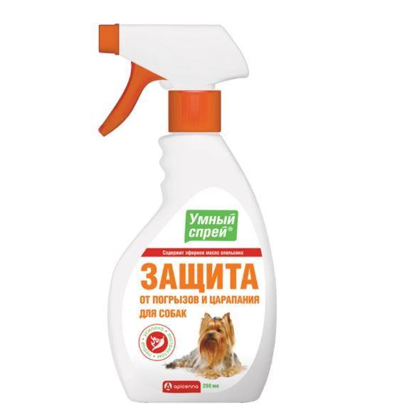 Умный спрей Api-San/Apicenna Защита от погрызов для собак 200 мл