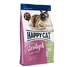 Сухой корм Happy Cat Adult Sterilised для стерилизованных кошек кастрированных котов с ягнёнком 10 кг