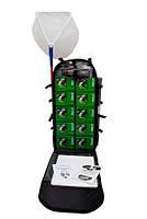 «НКВ-Р», ранцевая полевая лаборатория исследования водоемов, с сачком гидробиологическим, 23 показателя