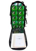 «УКВ», укладка-лаборатория полевого химического контроля качества воды, войсковая (ранец с баулом), 34 показателя