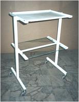 Столик инструментальный (краш.полка+стеклюполка) СИ-1