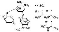 Гентамицин сульфат, 2*25 мг