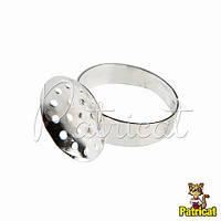 Основа для кольца Серебряная 1.5 см диаметр