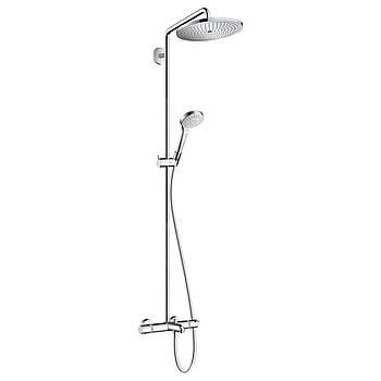 Croma Select 280 Air 1jet Showerpipe Душевая система для ванны с термостатом, хром