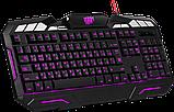 Клавиатура DEFENDER Doom Keeper GK-100DL RU,3-х цветная,19 Anti-Ghost, фото 3
