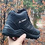 Зимние Кроссовки ADIDAS TERREX с МЕХОМ Черные Мужские Ботинки Адидас (размеры: 41,42,43,45)ВидеоОбзор, фото 5
