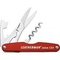 Мультитул LEATHERMAN Juice CS3- Cinnabar orange (832369)