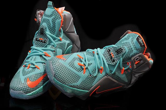 Кроссовки баскетбольные Nike Lebron 12 NSRL