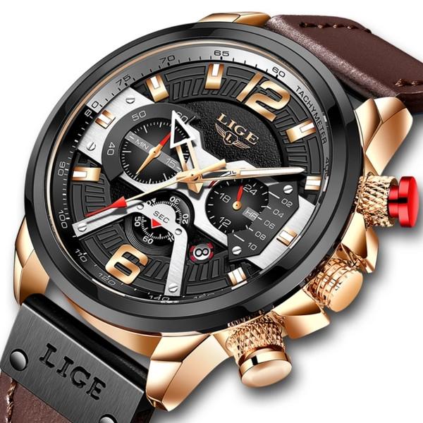 Мужские наручные часы Lige Expret