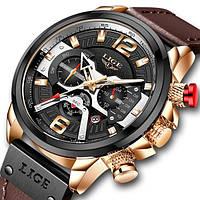 Мужские наручные часы Lige Expret, фото 1