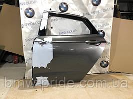 Дверь голая Ford Fusion 2.0 HYBRID 2013 задн. лев. (б/у)