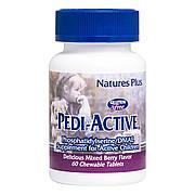 Добавка для Активных Детей (Фосфатидилсерин и DMAE), Nature's Plus, 60 Жевательных Таблеток
