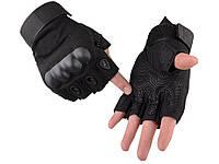 Перчатки без пальцев длямужчинOakleyармейские,военные,тактические L Черный