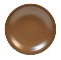 Тарілка глибока д22см Табако кераміка . Артикул: 24-237-014. TM Keramia.