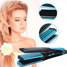 Утюжок для волос и плойка гофре Gemei GM-1961 2в1