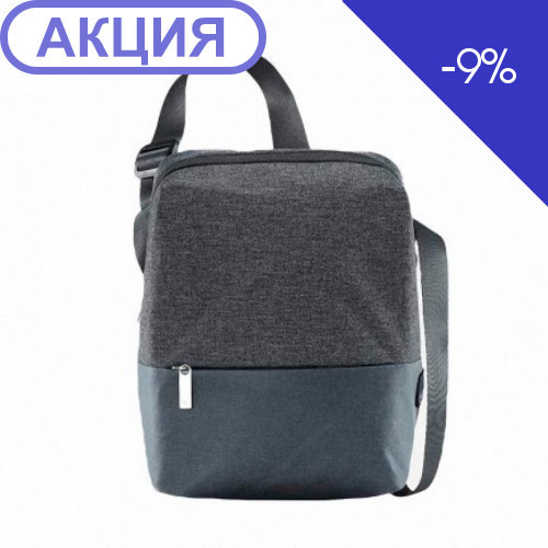 Рюкзак 90FUN Urban Simple Shoulder Bag Dark Gray