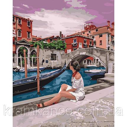 """Картина по номерам Іейка """"Дивовижна Венеція"""" КНО4658, фото 2"""