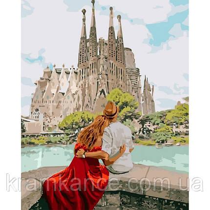 """Картина по номерам Іейка """"Романтична Іспанія"""" КНО4689, фото 2"""