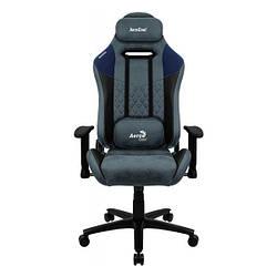 Геймерське крісло Aerocool Duke Steel Blue