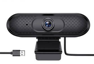 Веб-камера 2.0 Мп з мікрофоном HOCO DI01 USB Computer Camera Black