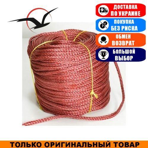 Якорная веревка Weekender нетонущая 12мм/200м, Красная; Haida 12 red. Якорный канат;