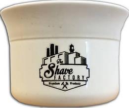 Чаша для гоління TSF біла