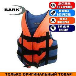 Жилет страховочный оранжево-синий Bark 30-50кг. Оксфорд; (Спасательный жилет).