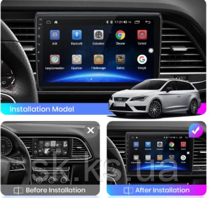 Junsun 4G Android магнитола для Seat Leon 3 2012 - 2020