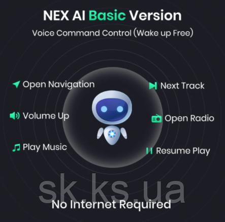 NexAI voice - програмное обеспечения для активации голосового управления Junsun