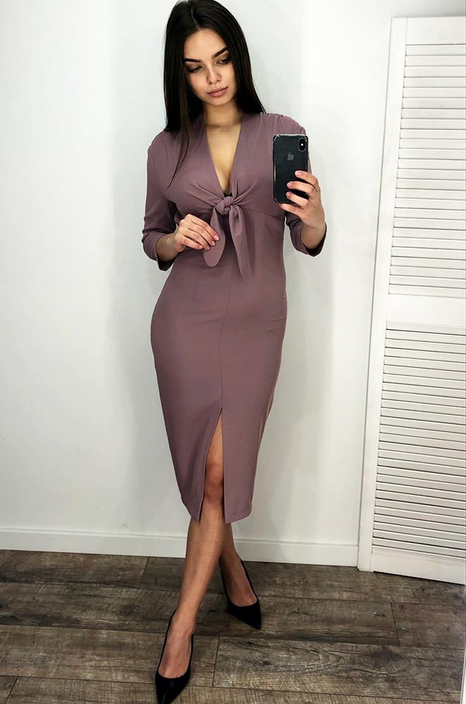 Платье женское лиловое TRG 127271M