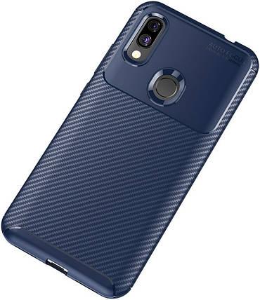 Чехол-накладка TOTO TPU Carbon Fiber 1,5mm Case Xiaomi Redmi 7 Dark Blue #I/S, фото 2
