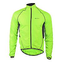 Ветровка велосипедная Nuckily MJ004 Fluorescent 3XL Салатовый (5081-14964), фото 1