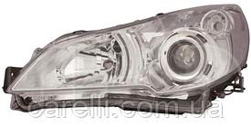 Фара левая электро D2S+НВ3 для Subaru Legacy 2009-14