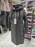 Стильна подовжена зимова куртка Solo SV-21, фото 3